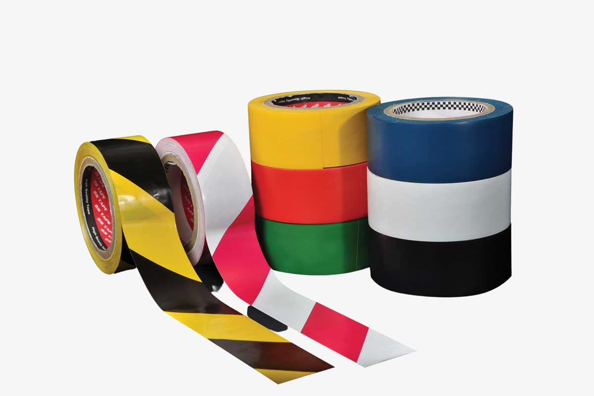 Floor Marking Tape | Safety Tapes | Malaysia Largest Industrial Tapes Supplier | 2S Packaging