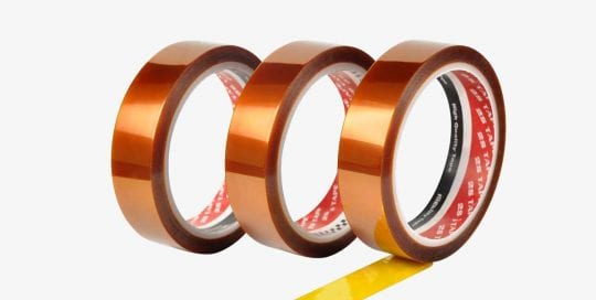 Kapton Tape | High Temperature Adhesive Tapes | 2S Packaging