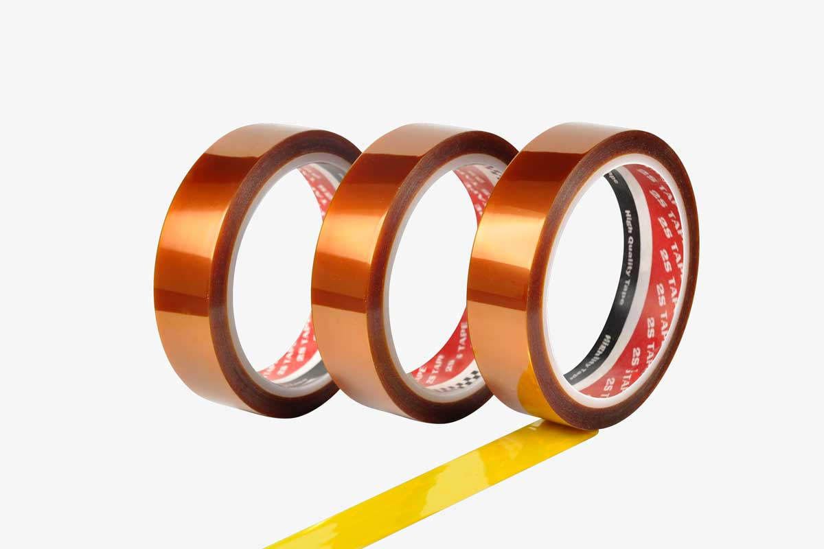 Kapton Tape | High Temperature Adhesive Tapes | 2S Packaging