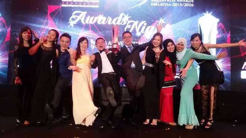 The 3rd Top 50 Team Enterprise Award Malaysia | Award Winning Tapes & Packaging Company | 2S Packaging