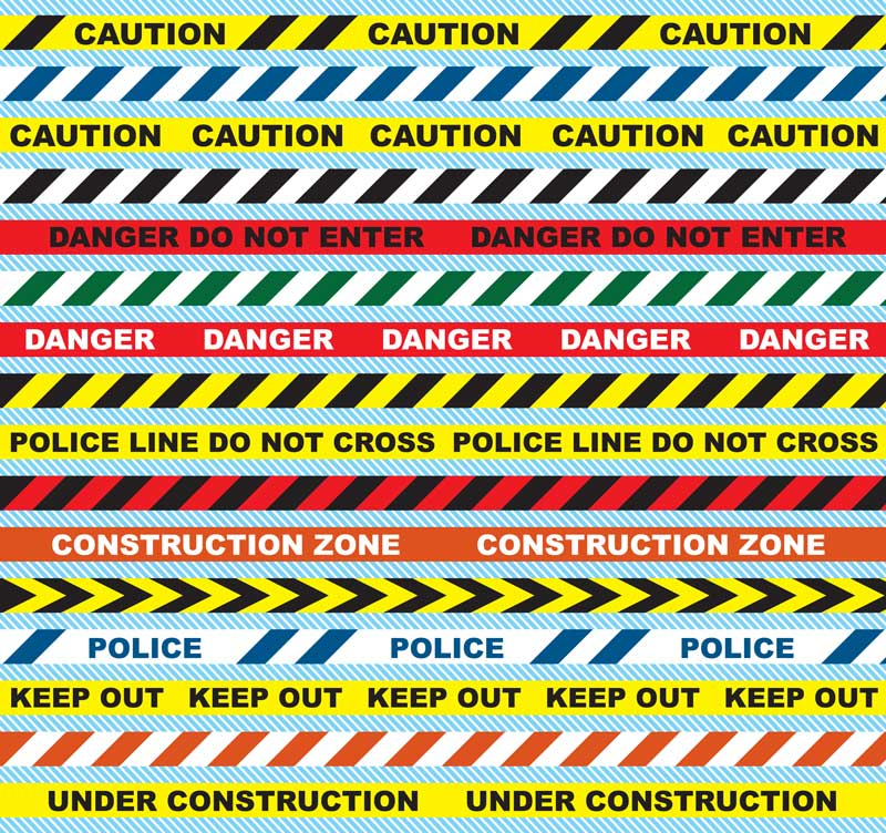 Caution Tape | Barricade Tape | Warning Tape | 2S Packaging