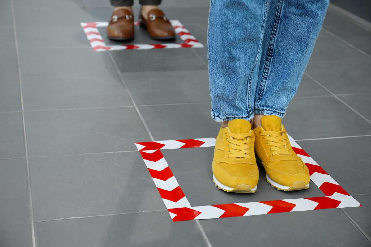 Floor Marking Tape | Industrial Tapes | 2S Packaging
