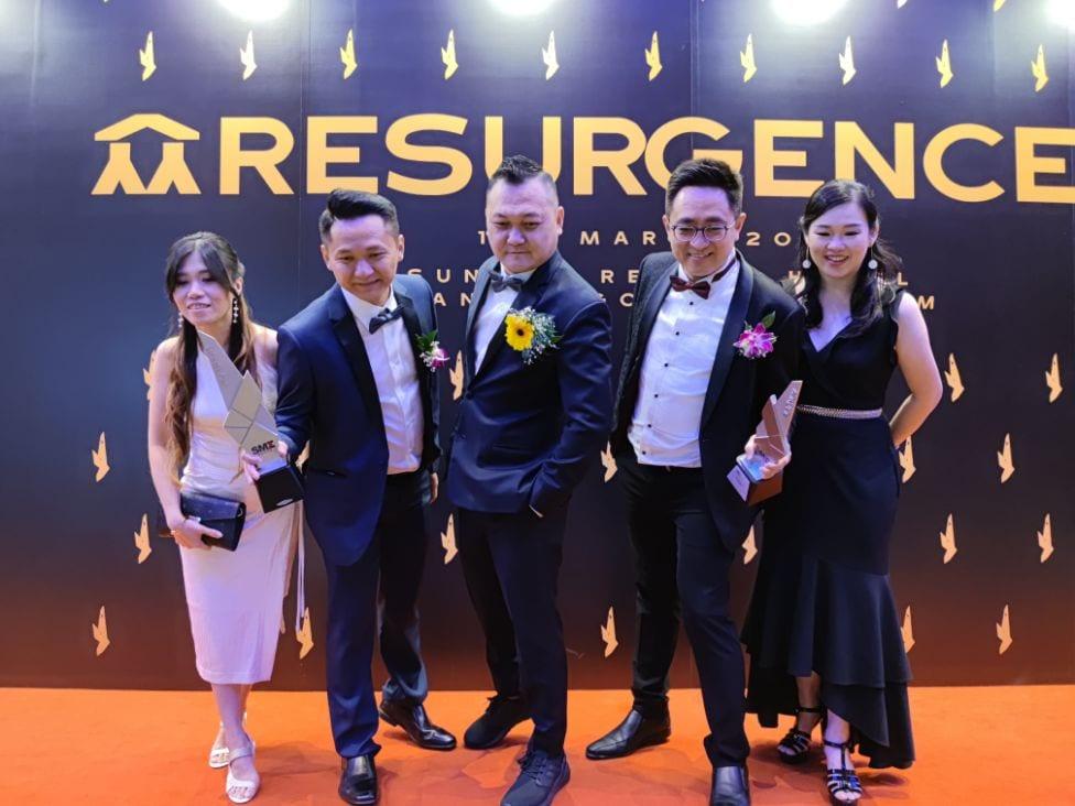 SME Platinum Brand and Service Excellence Award 2020 — PBA 2020 Gala Dinner