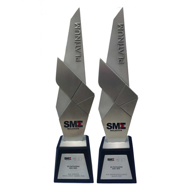 SME Platinum Brand and Service Excellence Award 2020 — PBA 2020 Gala Dinner   2S Packaging